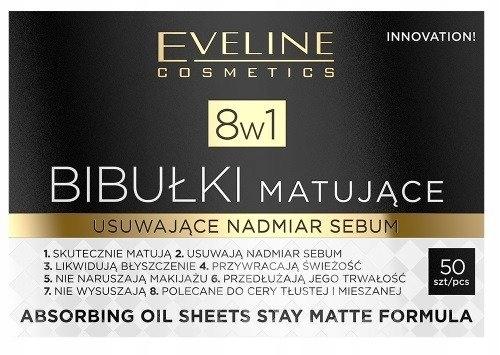 Eveline Cosmetics Bibułki Matujące 8w1 Do Twarzy