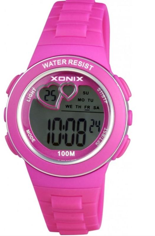 Zegarek Xonix KM-004 dla DZIEWCZYNKI DO SZKOŁY HIT