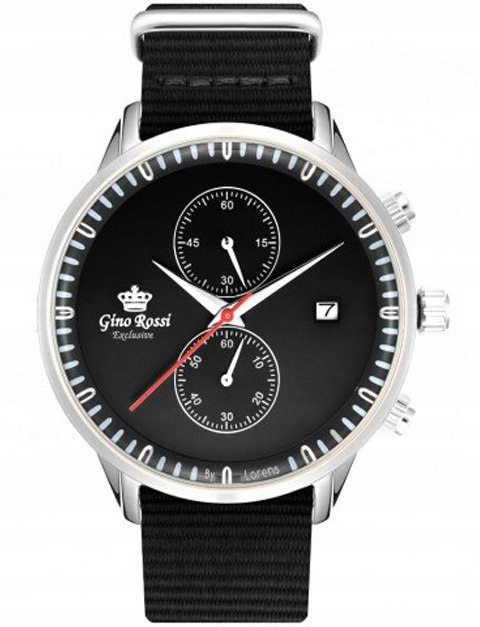 Zegarek Męski Gino Rossi EXCLUSIVE CHONOGRAF E1246