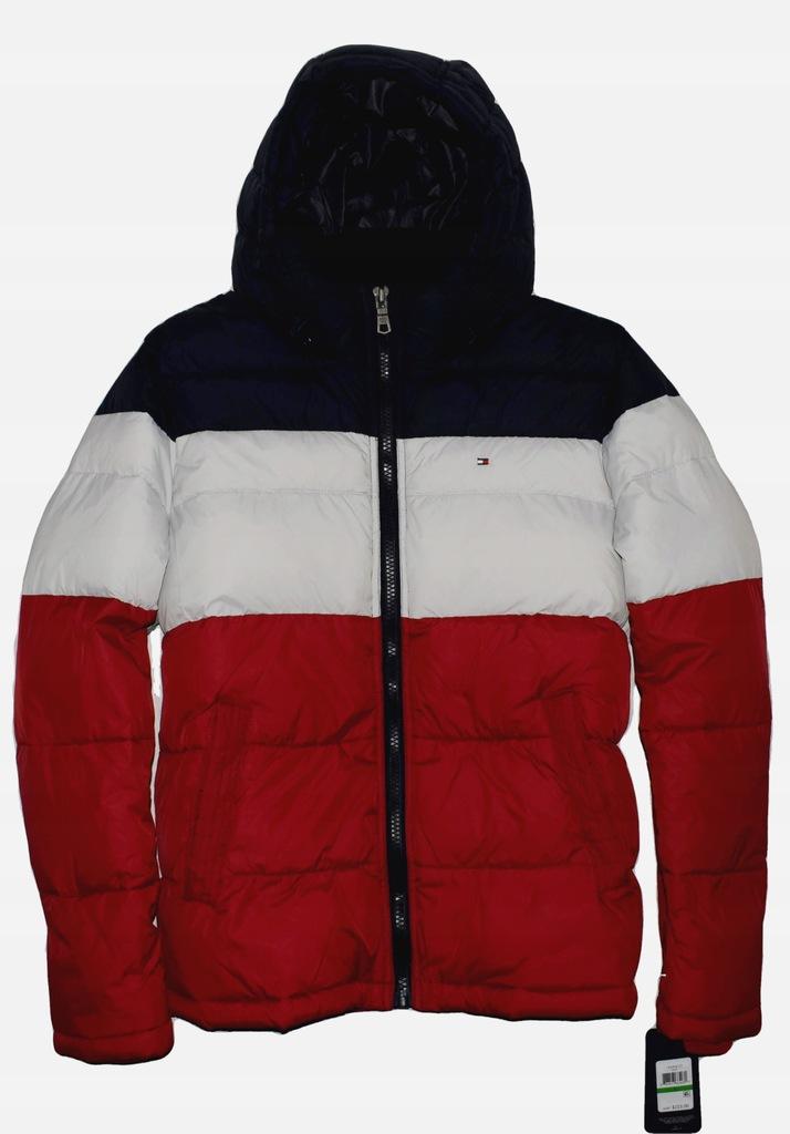 Tommy Hilfiger NOWA kurtka pikowana z USA gruba