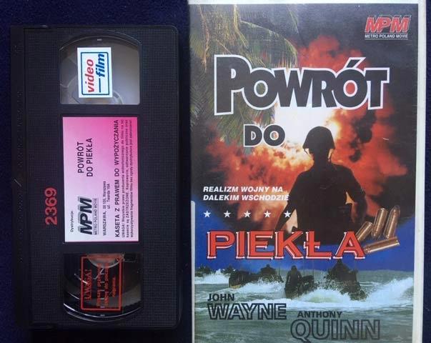 POWRÓT DO PIEKŁA 1945 VHS RARYTAS