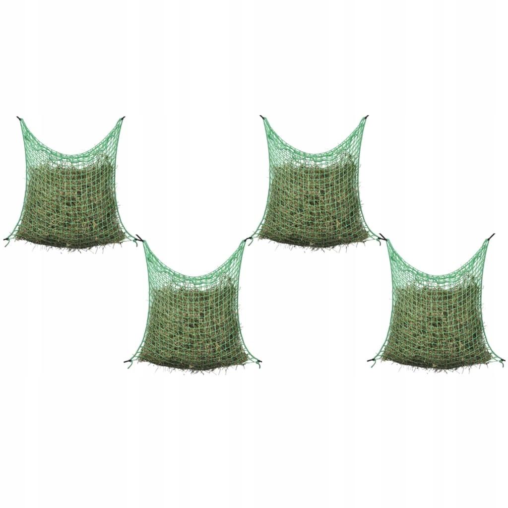 Siatki na siano, 4 szt., kwadratowe oczka, 0,9 x 1