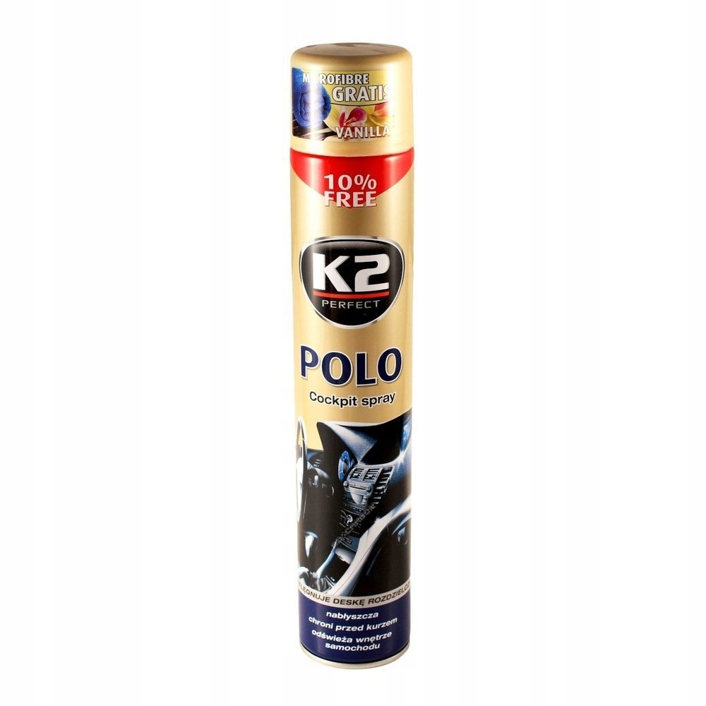 K2 POLO COCKPIT DO KOKPITU PLAK WANILIA 750ml