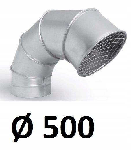 Wyrzutnia z siatką 500 [mm] OCYNK