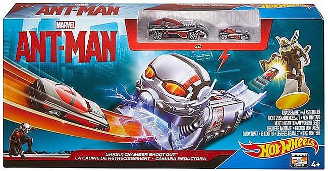 Hot Wheels ANT-MAN CDF92 CDD28 2 AUTA Avengers