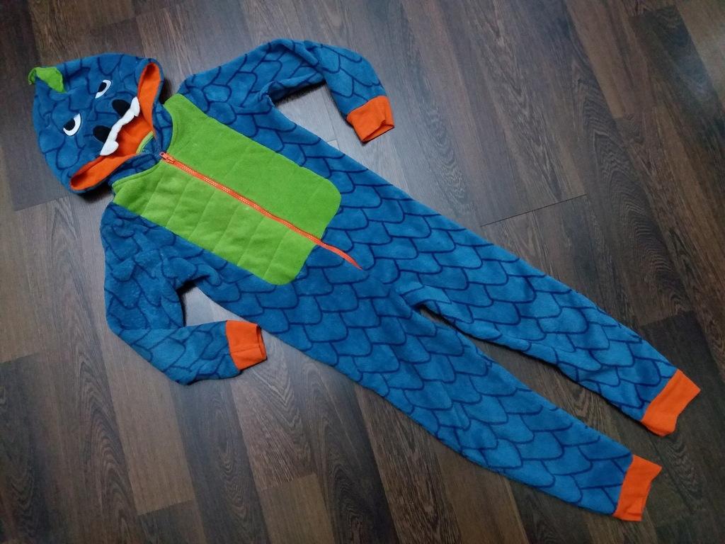 Pajac piżama SMOK 6-7 lat 122 cm TU