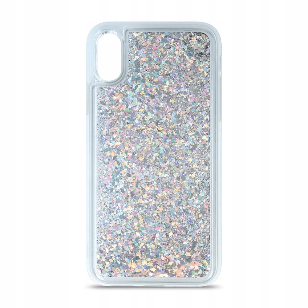 Nakładka Liquid Sparkle TPU do Samsung S20 srebrna