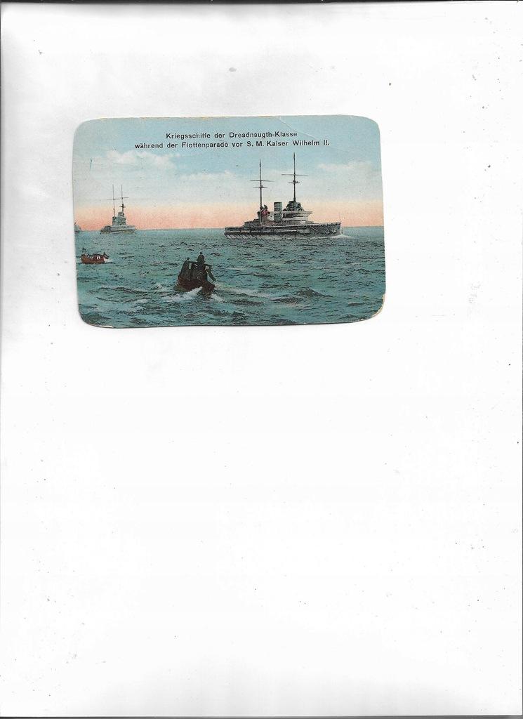 Kriegsschiffe S.M.Kaiser Wilhelm II Kiel 1918