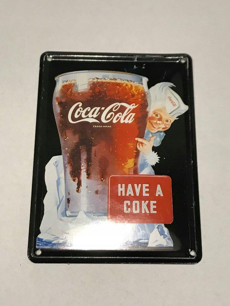 Magnes lodówkę magnez Coca Cola Ameryka USA Stany