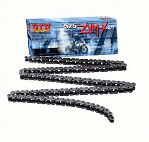 Łańcuch napędowy DID 525ZVMX 108 ogniw (X-ring )