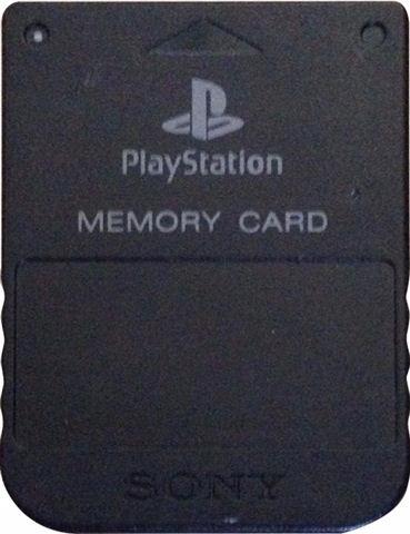 KARTA PAMIĘCI SONY PLAYSTATION 1MB BLACK - PS1