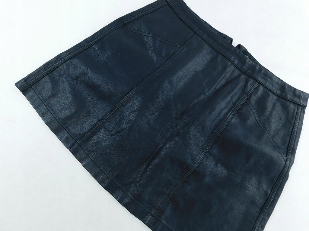2001d76 NEW LOOK spódniczka CZARNA skaja 40