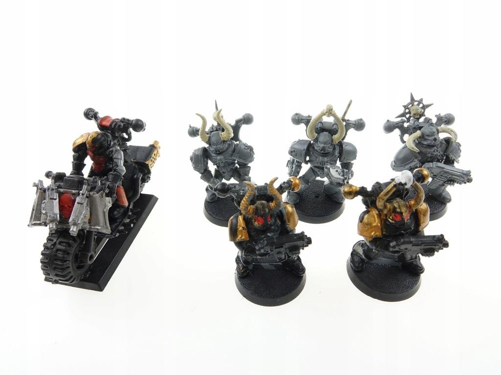 Warhammer 40k Chaos Space Marines Zestaw 6 Figurek 9789522324 Oficjalne Archiwum Allegro