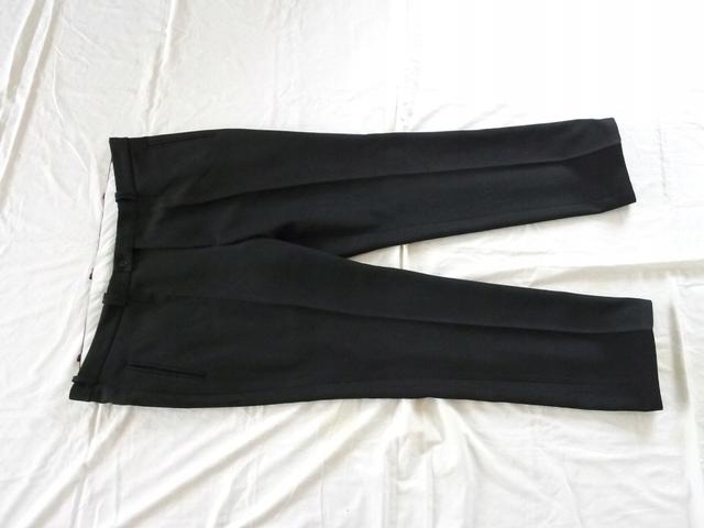 Spodnie męskie Wizytowe Garniturowe Pas 116cm