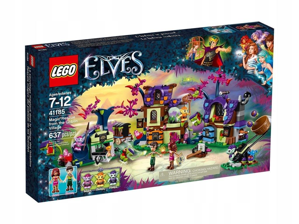 LEGO Elves Magicznie uratowani z wioski 41185