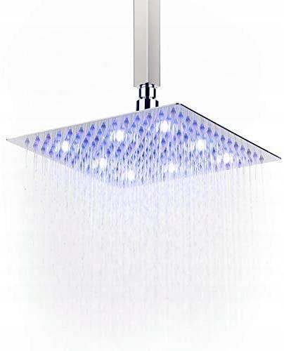 Ultra cienka kwadratowa głowica prysznicowa