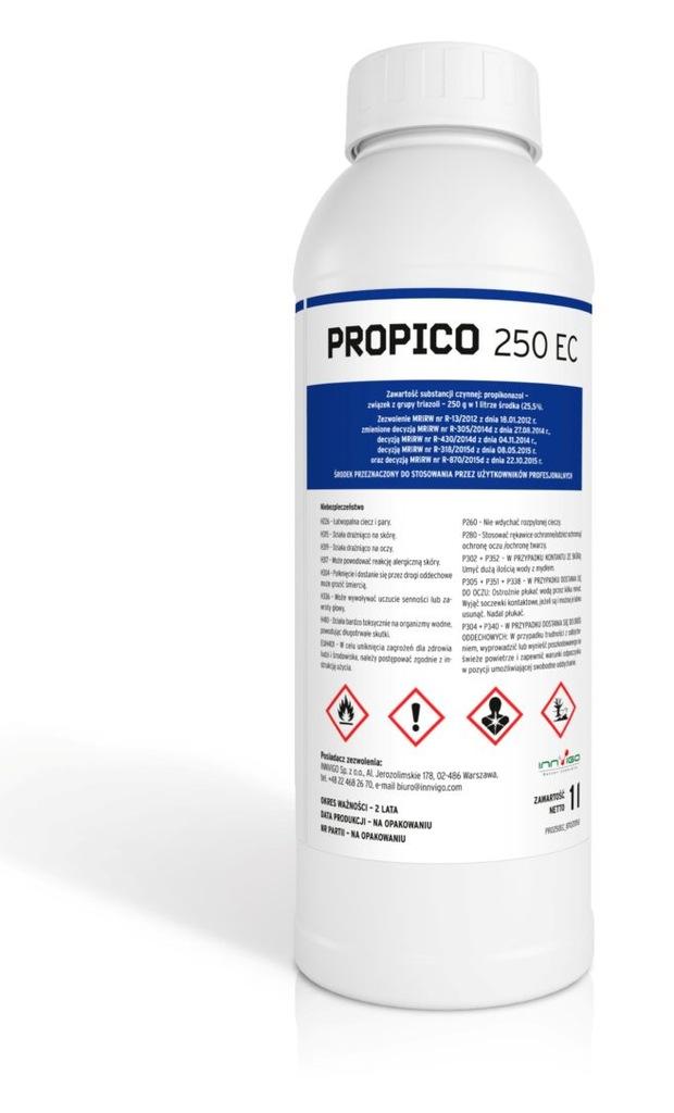 Propico 250 Ec Fungicyd Grzybobojczy Na Choroby 1l 7340591621 Oficjalne Archiwum Allegro