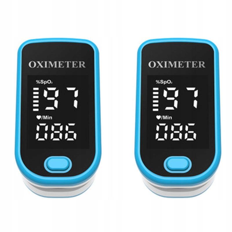 Pulsoksymetr napalcowy medyczny ACCURATE FS10C 2x