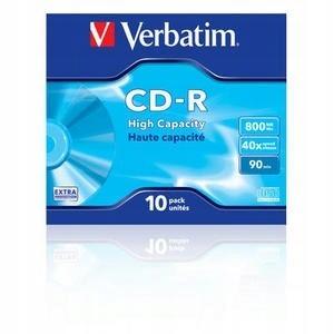Verbatim CD-R 40x 80MB 10P JC Extra Protection