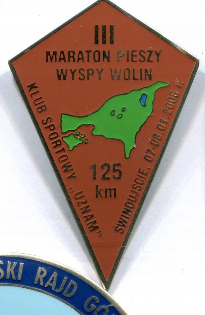 L) III Maraton Pieszy Wyspy Wolin