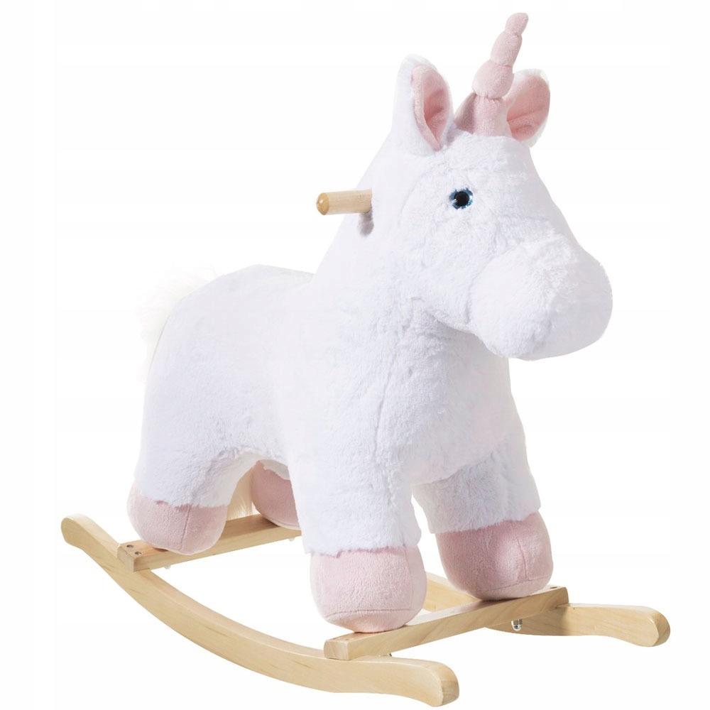Konik Na Biegunach Jednorozec Rozowy Unicorn Bujak 8399367397 Oficjalne Archiwum Allegro