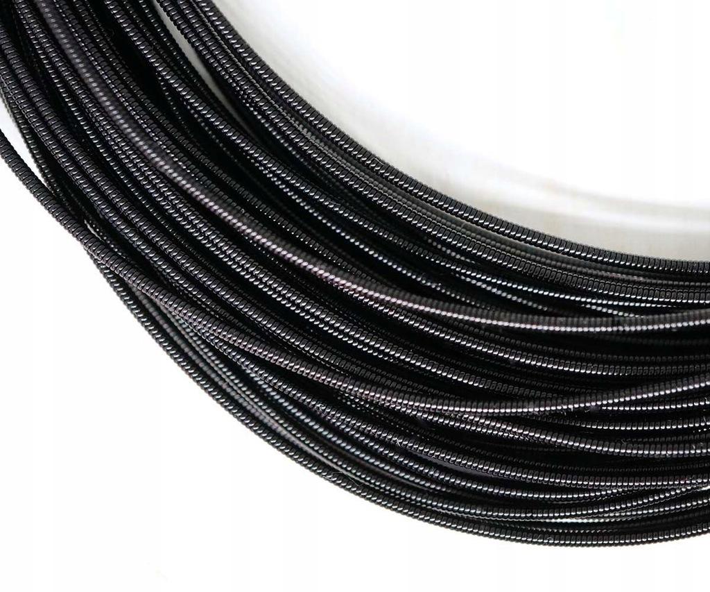 10g czarny okrągły sztywny miedziany haft ręczny