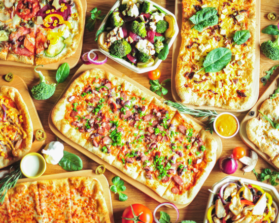 Uczta z Pizzanova w Twoim domu-10 sztuk pod drzwi!
