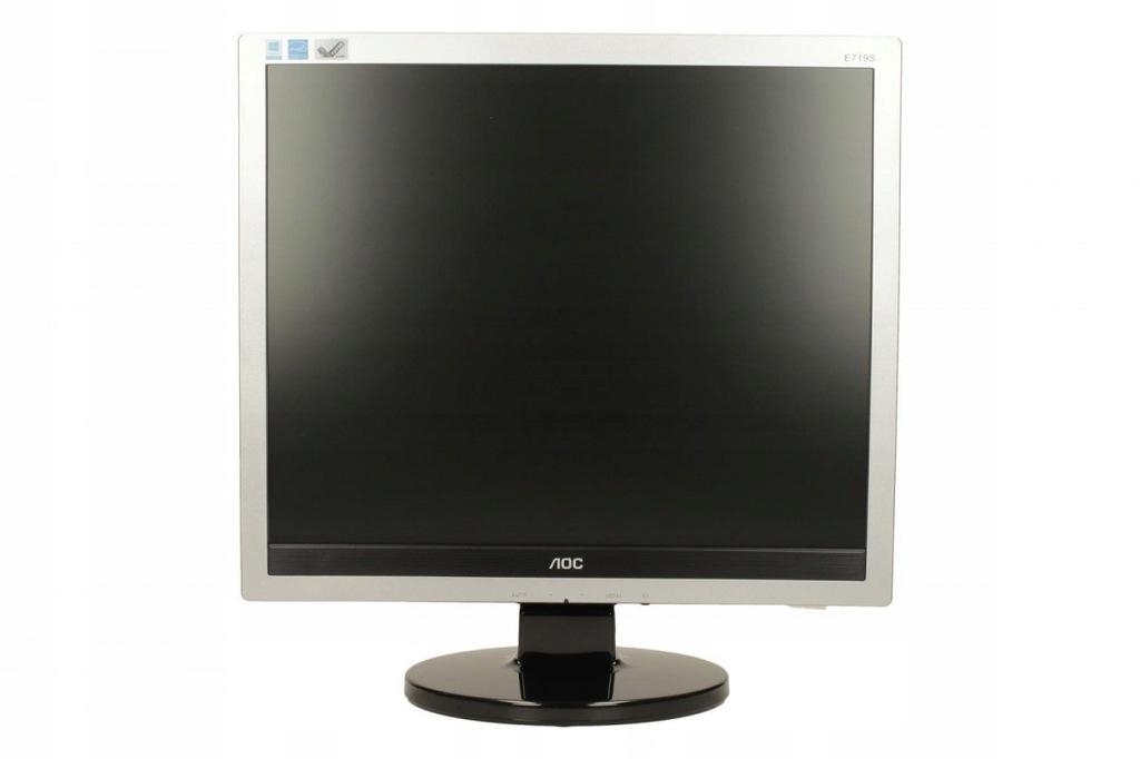 AOC Monitor 17 e719Sda LED 5:4 DVI Głośniki
