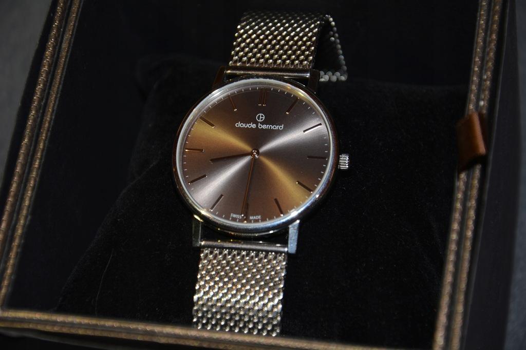 Zegarek Męski Claude Bernard 20214 3M GIN