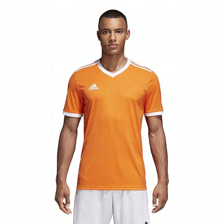 Koszulka adidas Tabela 18 CE8942 L pomarańczowy