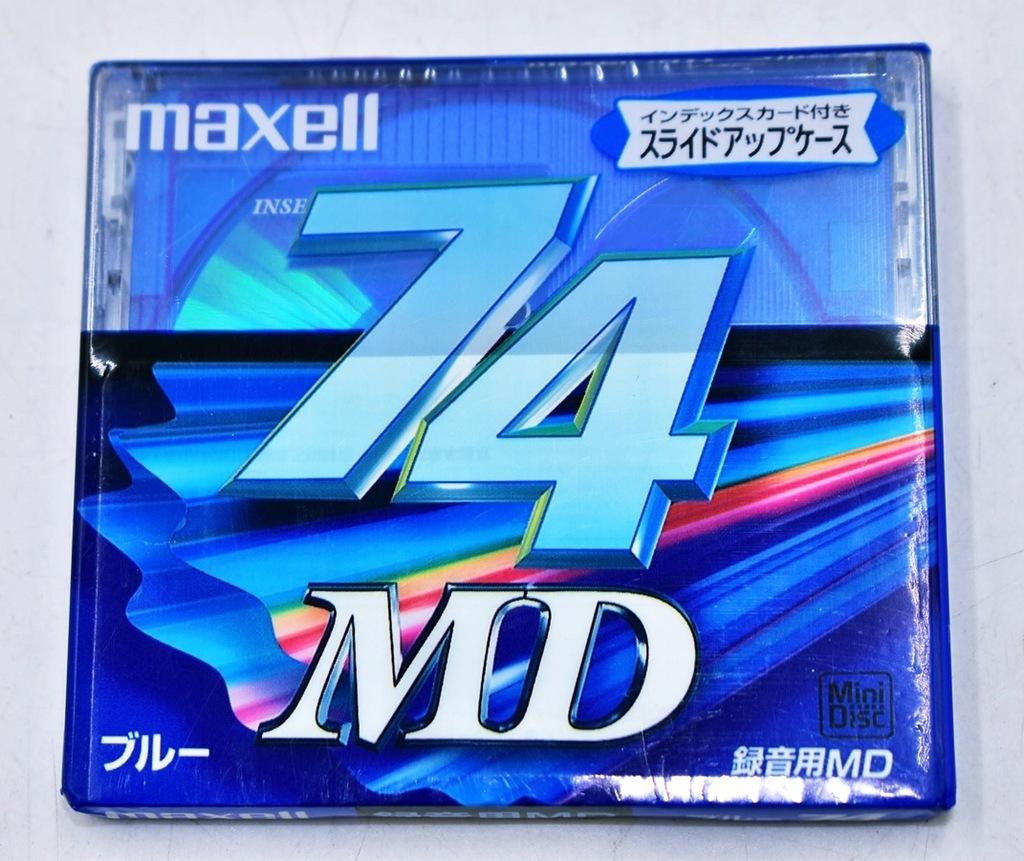 6317-42 ...MAXELL 74 MD... o#g MINI DISC NOSNIK