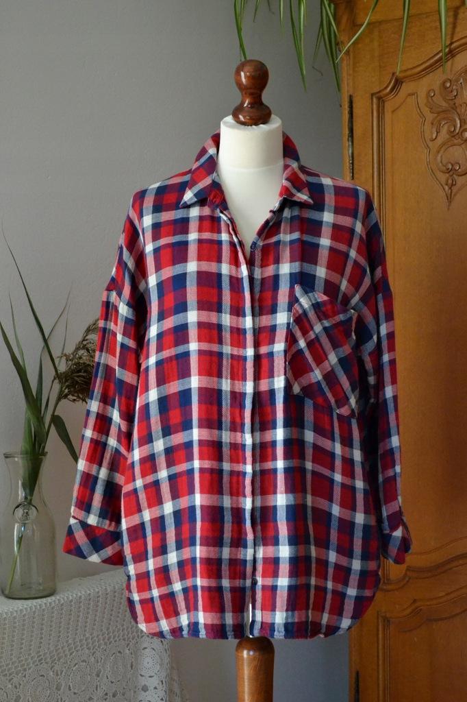 koszula Zara,koszula w kratę,koszula damska