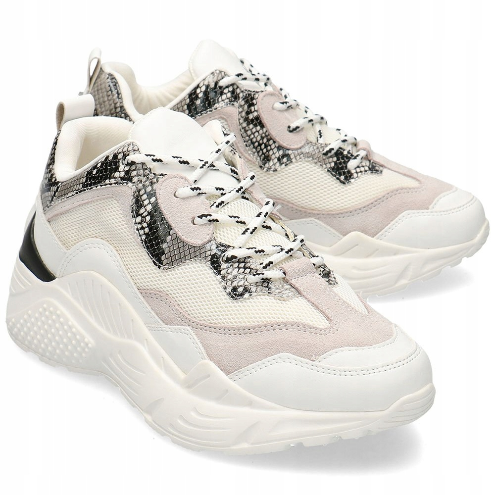 Steve Madden Białe Sneakersy Damskie R.38