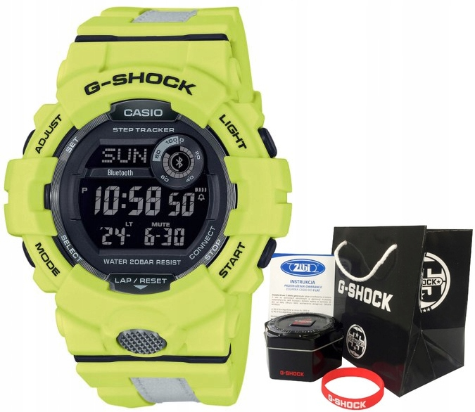 Zegarek dla chłopca Casio G-SHOCK GBD-800LU-9ER
