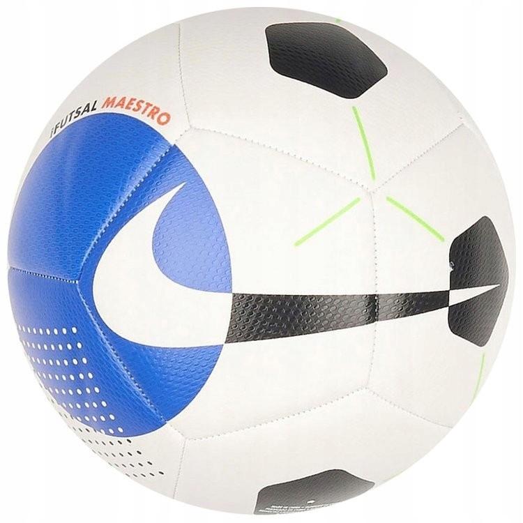 Piłka nożna Nike Maestro biało-czarno-niebieska