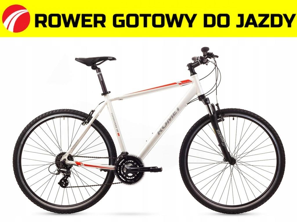 1628228 - 21 L Rower ROMET ORKAN 2 M biały