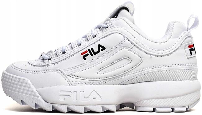 Buty FILA Disruptor Low białe 38 damskie 1010302