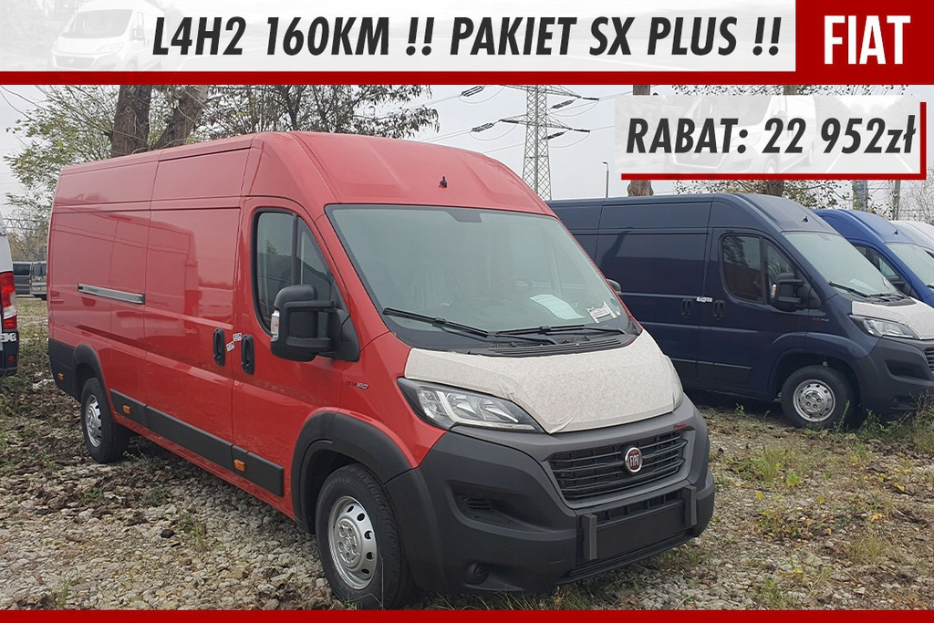Fiat Ducato Radio Uconnect 5 !! Pakiet SX Plus !!