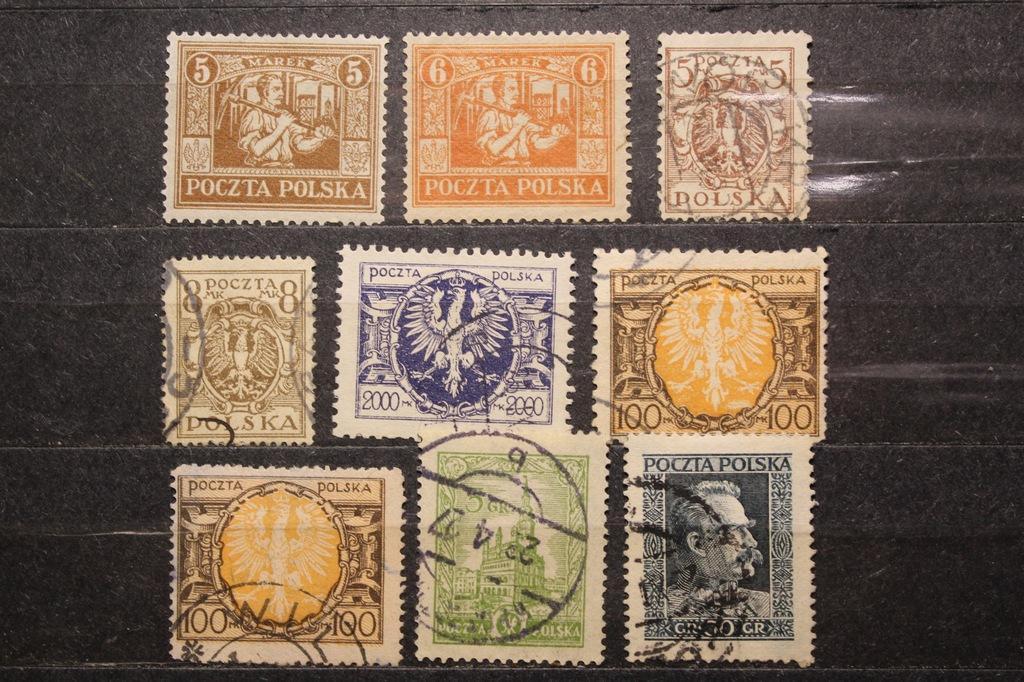 Zbiorek znaczków PMW