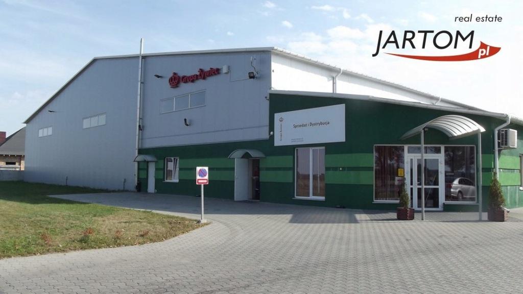 Magazyny i hale, Ciechanów, 3689 m²