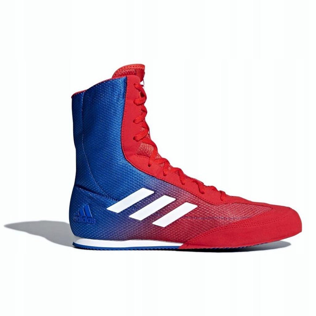 Niebieskie Czerwone Buty Sportowe Adidas r.43 13