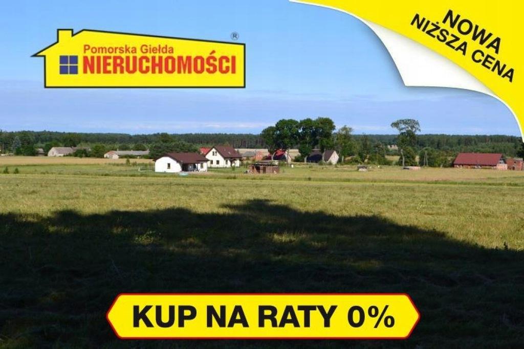 Działka Tychowo, białogardzki, 4404,00 m²