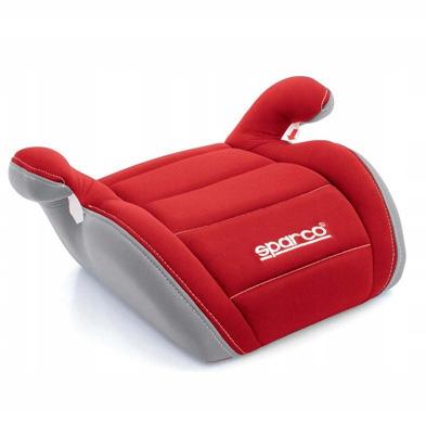 Fotelik SPARCO F100K 15-36 KG czerwono-szary