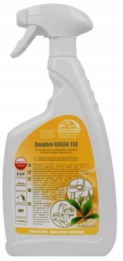 DOLPHIN GREEN TEA TRWAŁY ZAPACH DO POMIESZCZEŃ 750