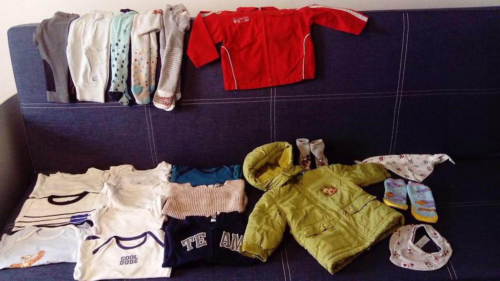 Paka ubrań dla chłopaka 80-86 cm.