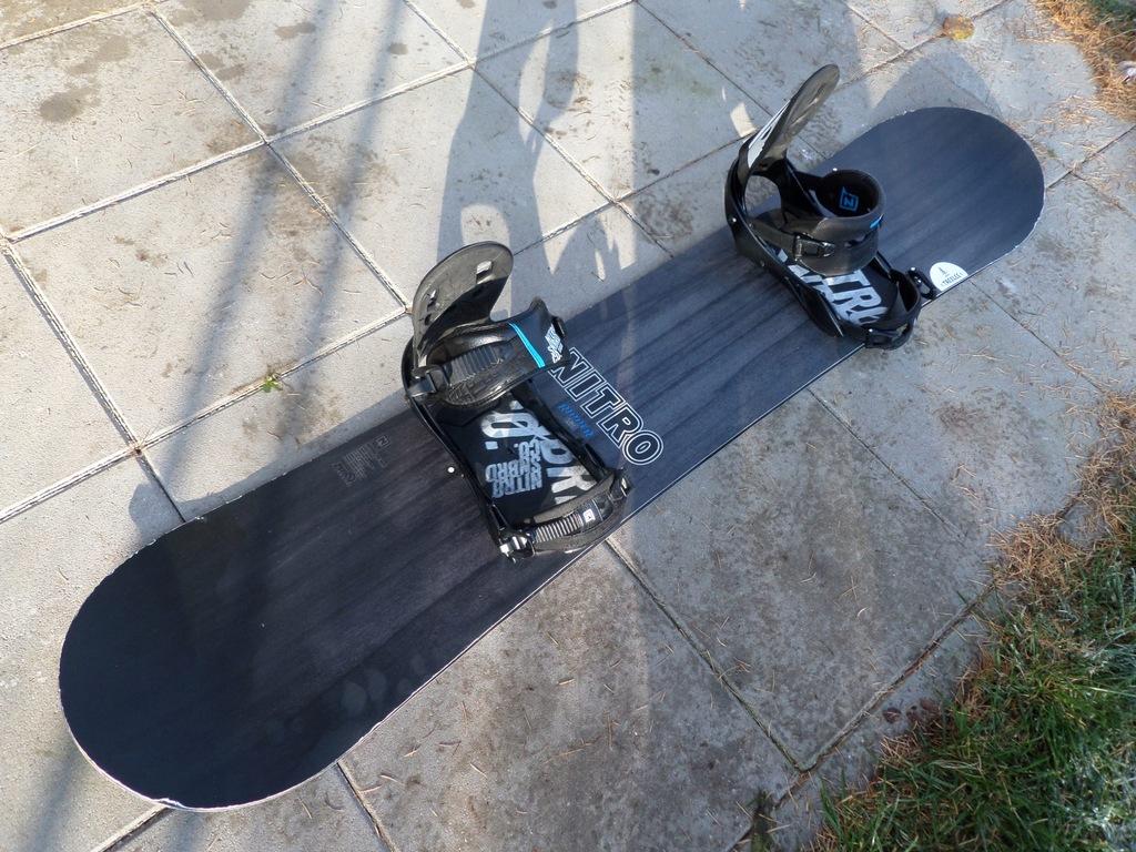 Snowboard NITRO RIPPER 149CM WIDE + wiąz. NITRO