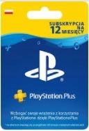 PS Plus Kod PlayStation 12 miesięcy Polska PS4/PS5