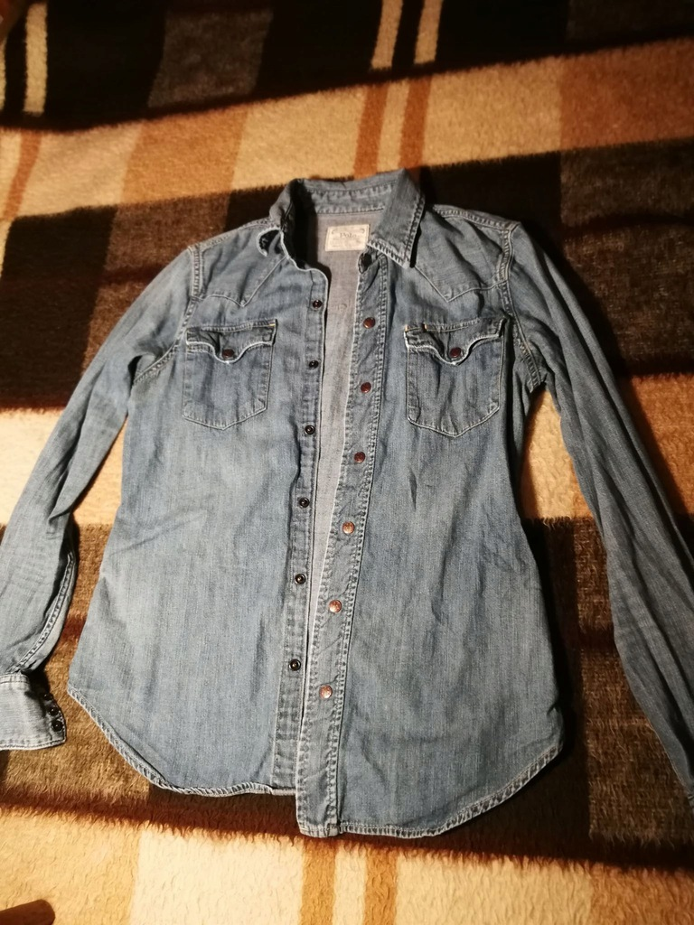 Koszula Jeansowa POLO RALPH LAUREN S Świetna 7886841213