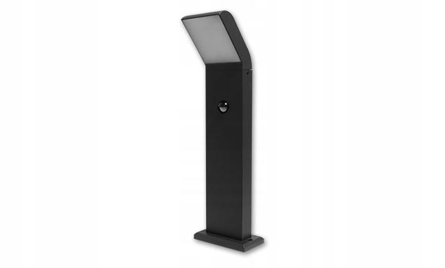 Lampa LED ogrodowa 12W Clark 50cm czujnik czarna