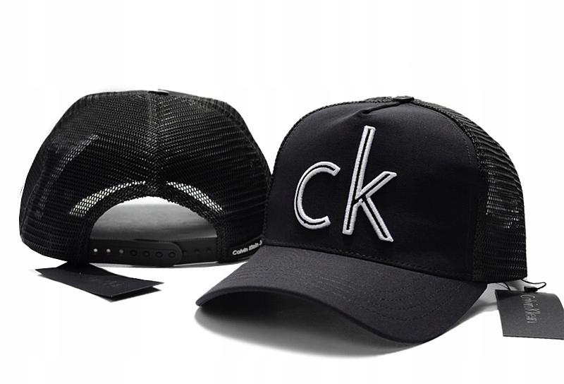Czapka z daszkiem Calvin Klein bejsbolówka